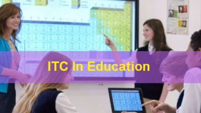 ITC In Education