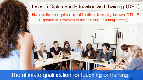 Level 5 Diploma in Education and Training – Cover image